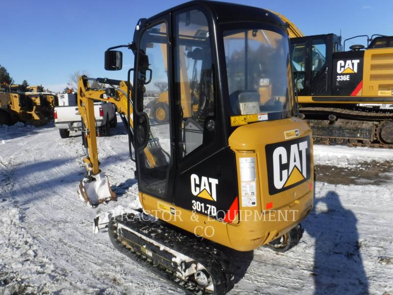 CATERPILLAR TRACK EXCAVATORS 301.7D CB equipment  photo 2