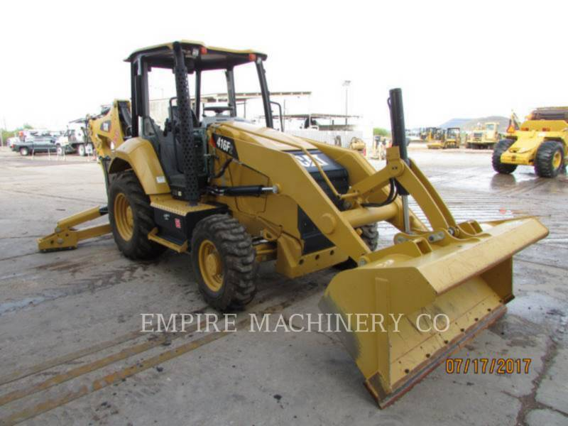 CATERPILLAR BACKHOE LOADERS 416F2 4EO equipment  photo 4
