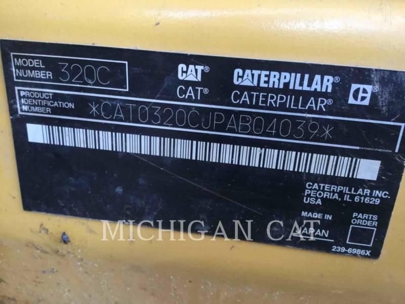 CATERPILLAR PELLES SUR CHAINES 320CL equipment  photo 21