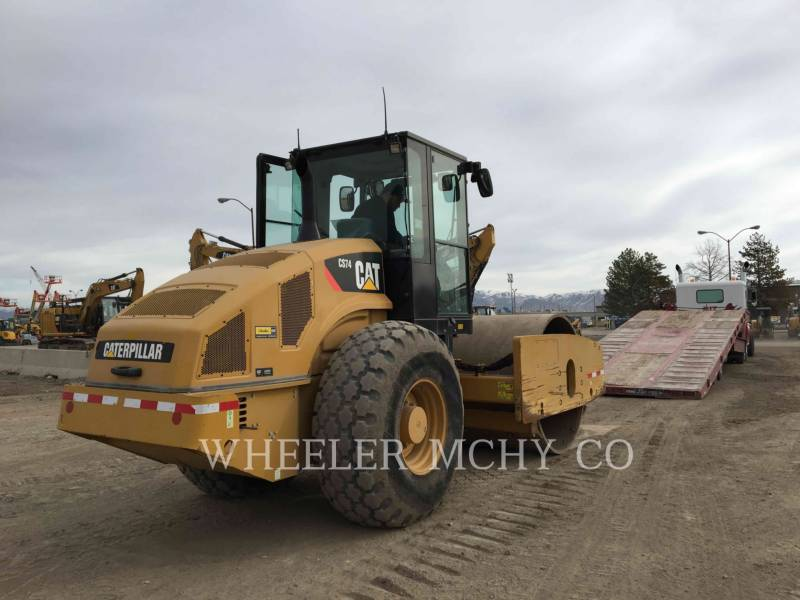 CATERPILLAR COMBINATION ROLLERS CS74 equipment  photo 4