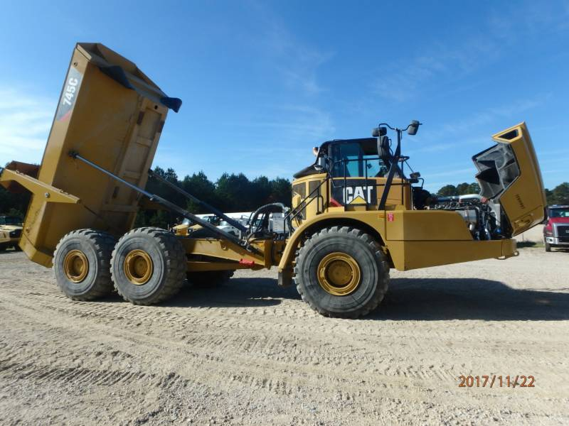 CATERPILLAR ARTICULATED TRUCKS 745C equipment  photo 11