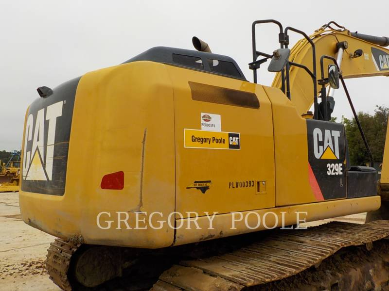 CATERPILLAR TRACK EXCAVATORS 329EL equipment  photo 11