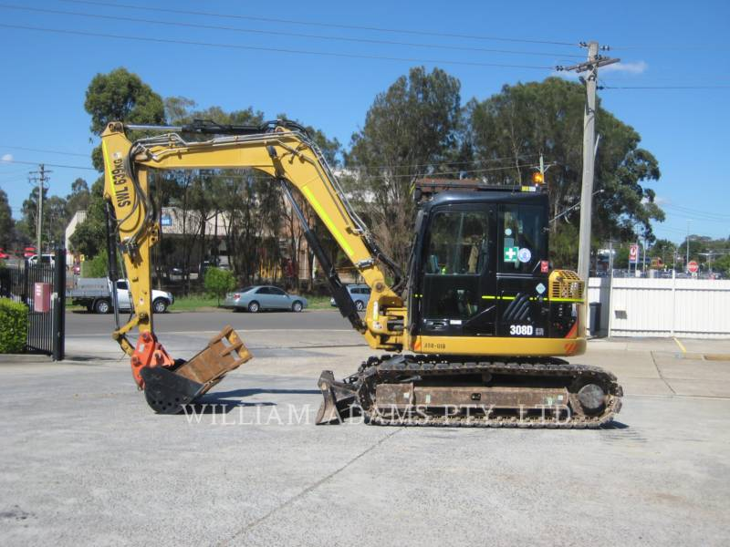 CATERPILLAR PELLES SUR CHAINES 308 D CR equipment  photo 7