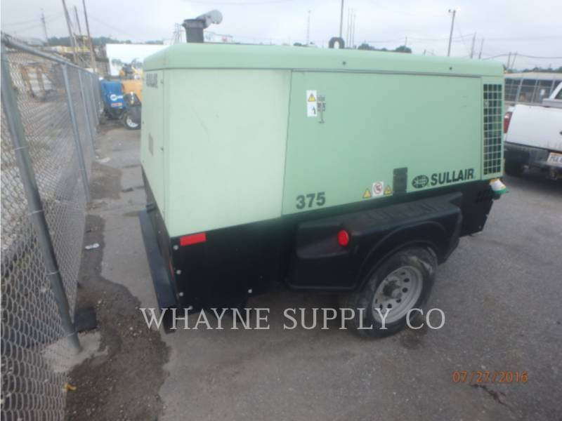 SULLAIR AIR COMPRESSOR 375CFM equipment  photo 3