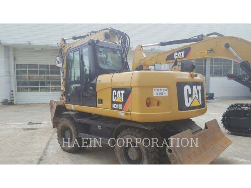 CATERPILLAR ホイール油圧ショベル M313D equipment  photo 6