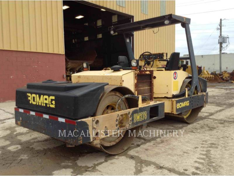 BOMAG COMPACTADORES BW278 equipment  photo 3
