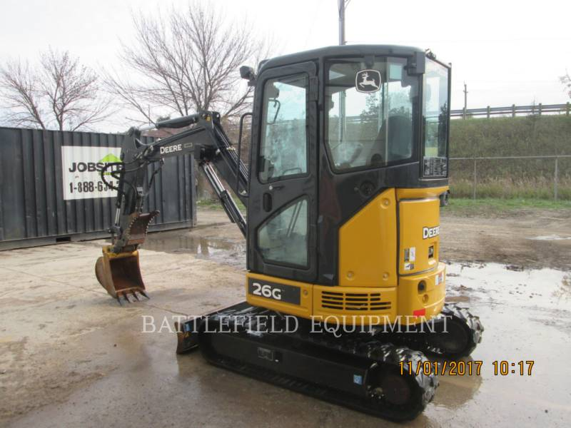 JOHN DEERE TRACK EXCAVATORS 26G equipment  photo 3