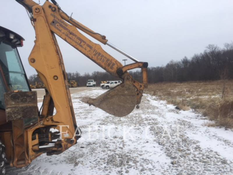CASE BACKHOE LOADERS 580SK equipment  photo 5