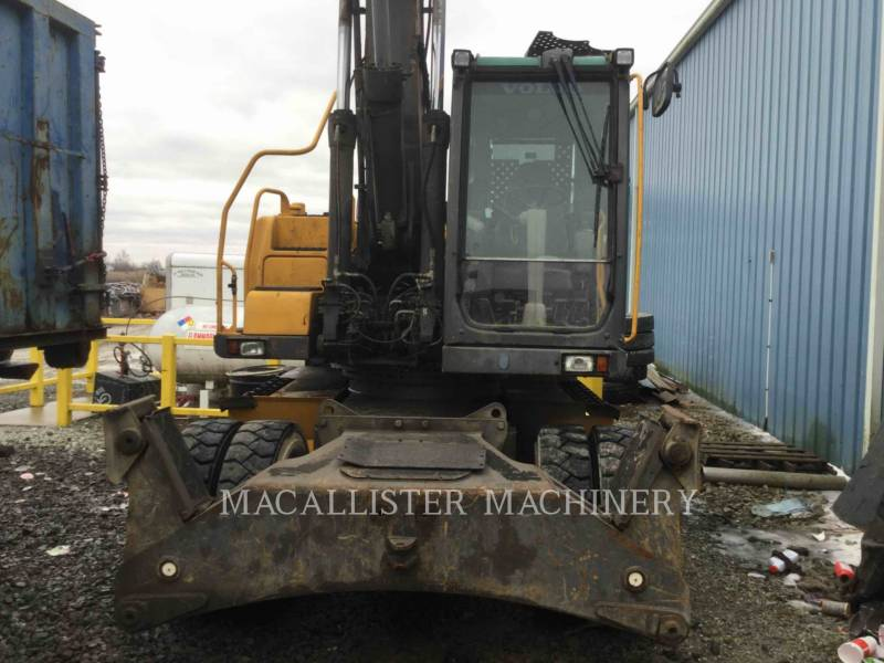 VOLVO CONSTRUCTION EQUIPMENT WHEEL EXCAVATORS EW180 equipment  photo 3