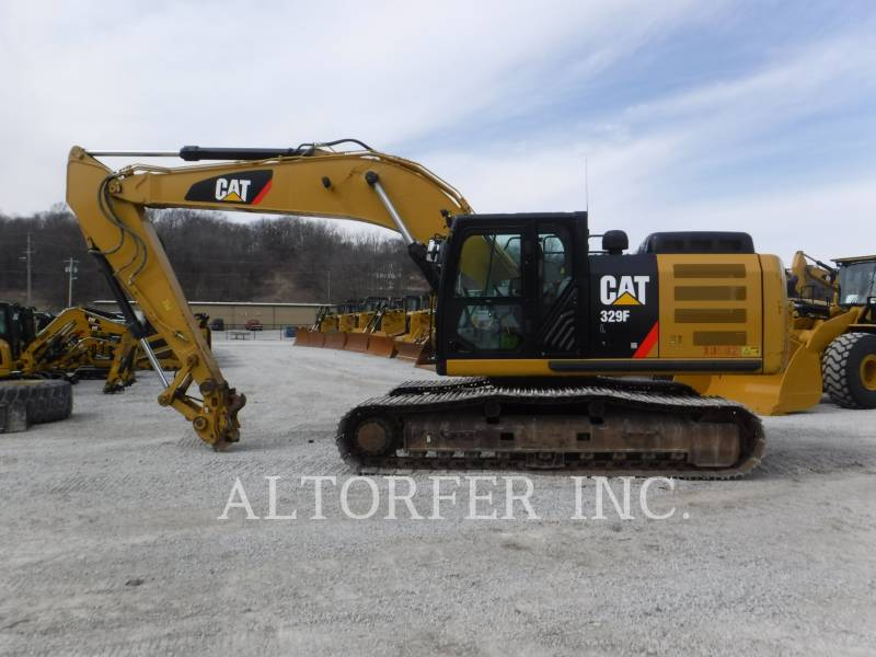 CATERPILLAR EXCAVADORAS DE CADENAS 329FL equipment  photo 7