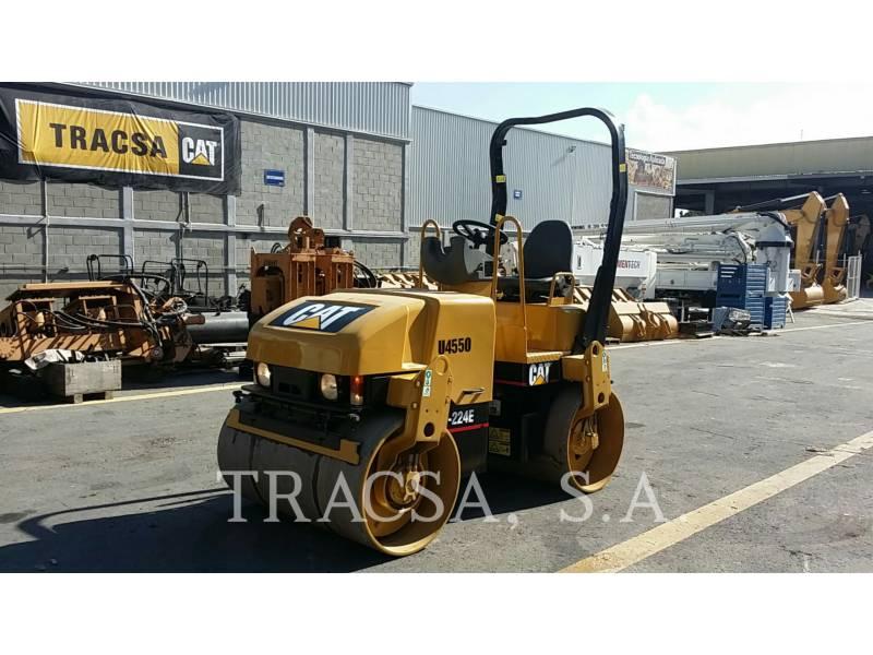 CATERPILLAR TAMBOR DOBLE VIBRATORIO ASFALTO CB-224E equipment  photo 1