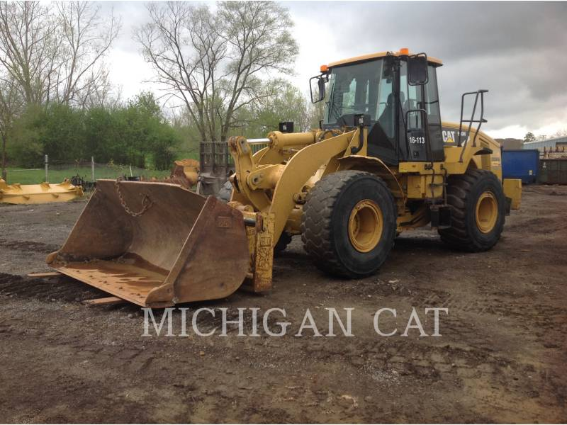 CATERPILLAR WHEEL LOADERS/INTEGRATED TOOLCARRIERS 950H S+ equipment  photo 1
