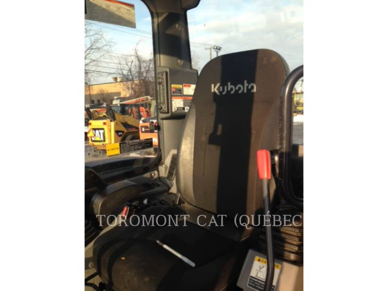 KUBOTA CORPORATION PELLES SUR CHAINES U55 equipment  photo 10