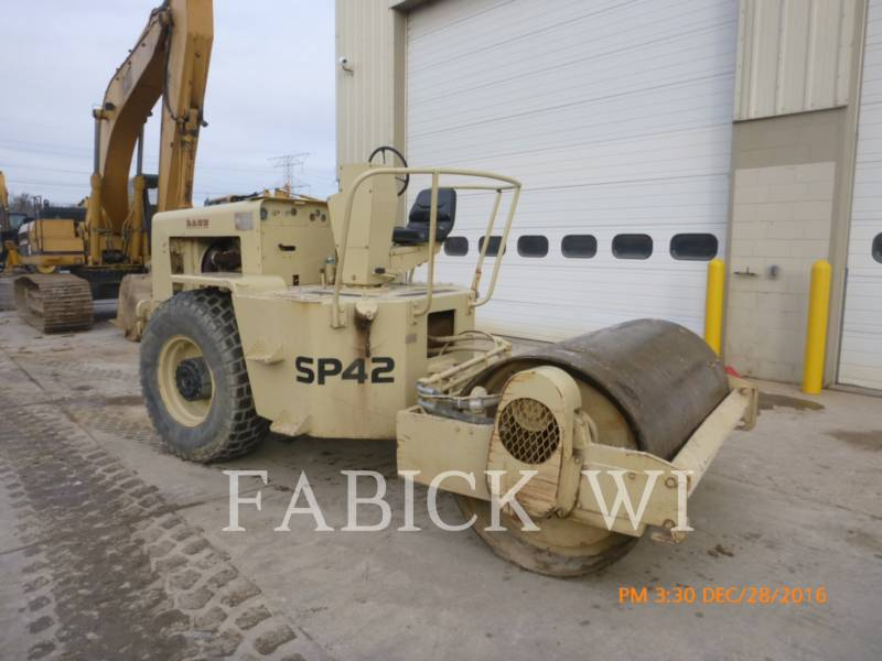 INGERSOLL-RAND COMPACTADORES SP42 equipment  photo 2