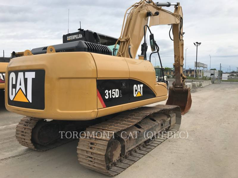 CATERPILLAR トラック油圧ショベル 315DL equipment  photo 3