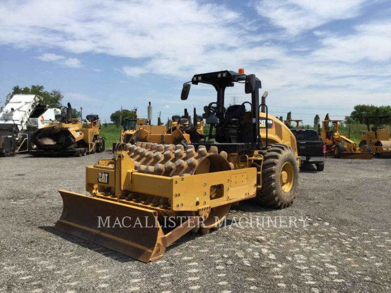 CATERPILLAR COMPATTATORE A SINGOLO TAMBURO VIBRANTE TASSELLATO CP56B equipment  photo 2