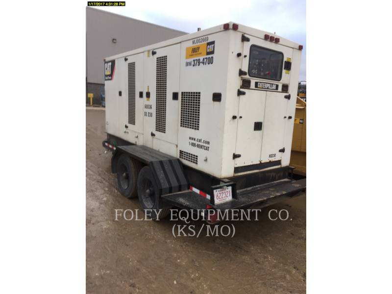CATERPILLAR PORTABLE GENERATOR SETS XQ230 equipment  photo 2