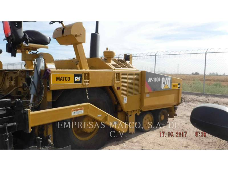 CATERPILLAR FINISSEURS AP-1000 equipment  photo 5