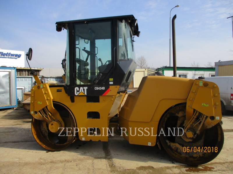 CATERPILLAR VIBRATORY DOUBLE DRUM ASPHALT CB-434D equipment  photo 1