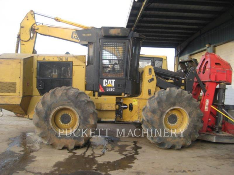 CATERPILLAR FORESTRY - FELLER BUNCHERS - WHEEL 553C equipment  photo 1