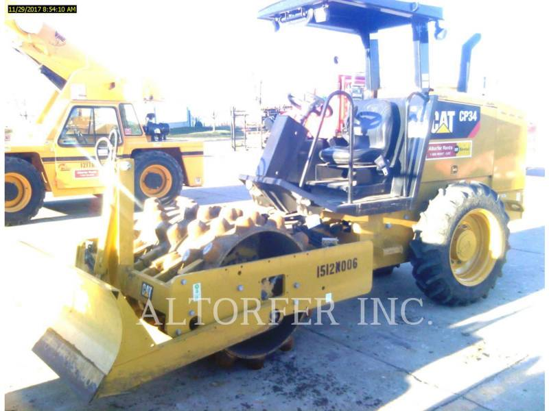 CATERPILLAR COMPACTADORES DE SUELOS CP34 equipment  photo 1