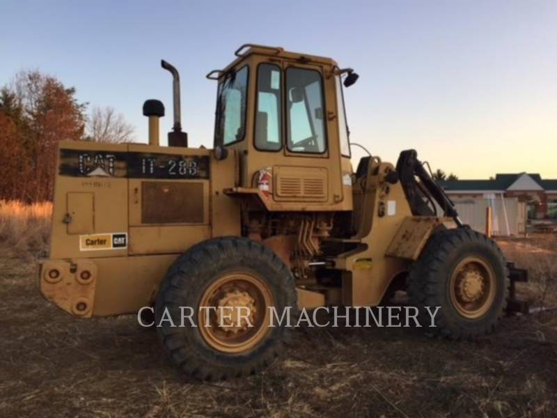 CATERPILLAR CHARGEURS SUR PNEUS/CHARGEURS INDUSTRIELS IT28B equipment  photo 4