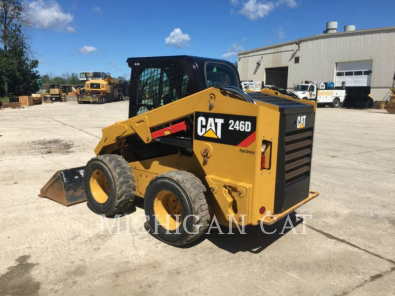 CATERPILLAR SKID STEER LOADERS 246D A2Q equipment  photo 4