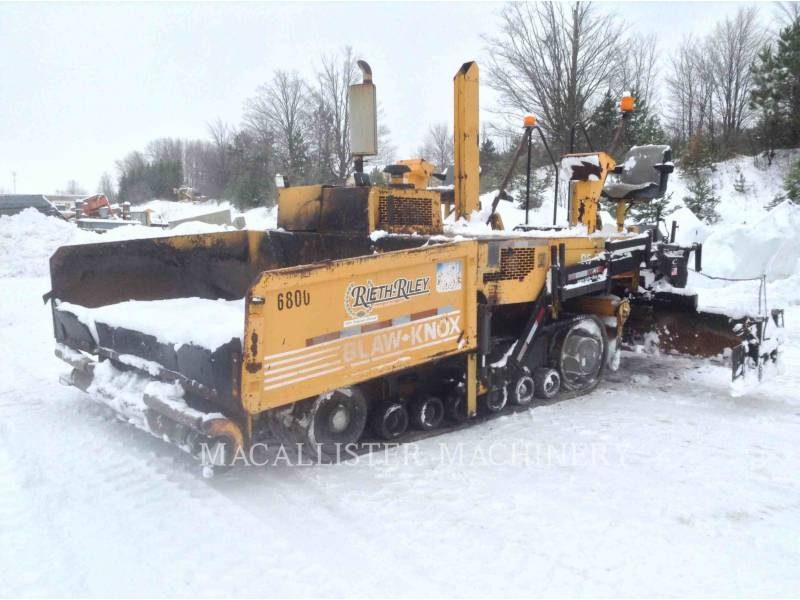 BLAW KNOX / INGERSOLL-RAND ROZŚCIELACZE DO ASFALTU PF5510 equipment  photo 1