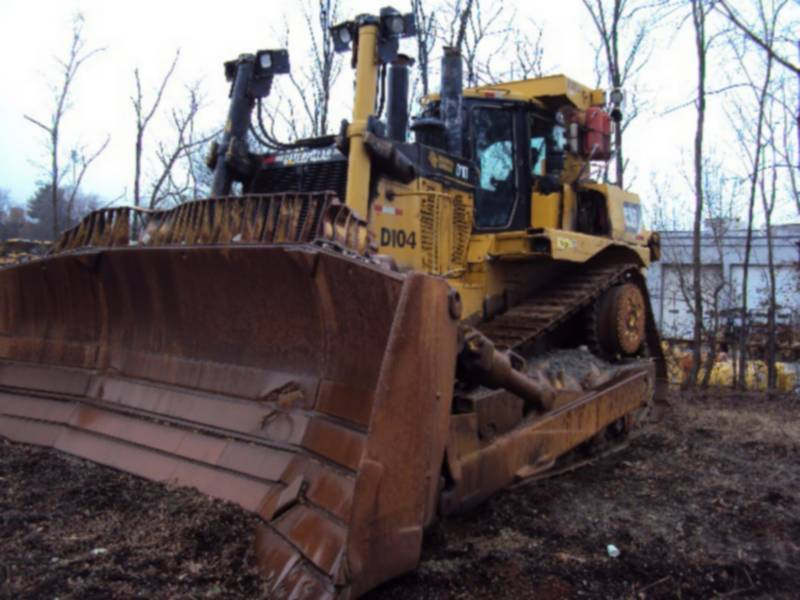CATERPILLAR TRACK TYPE TRACTORS D10T equipment  photo 1