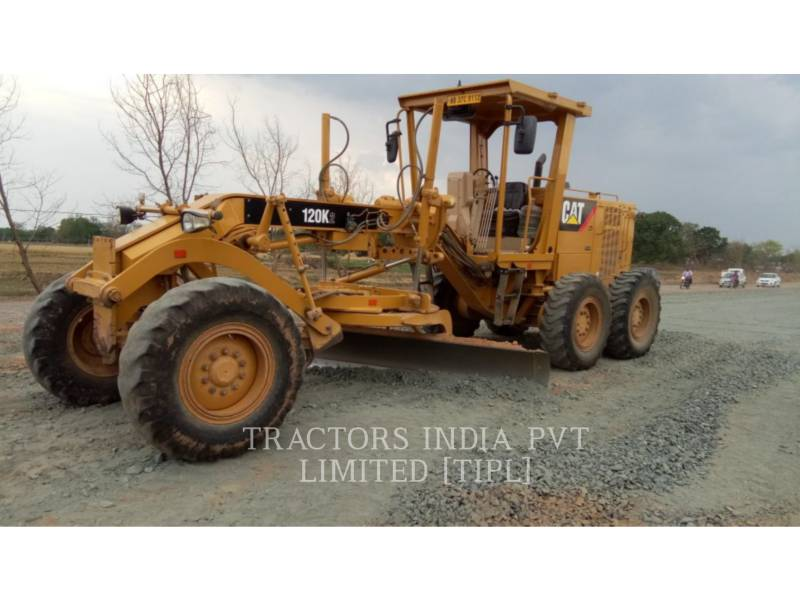 CATERPILLAR MINING MOTOR GRADER 120K2 equipment  photo 1