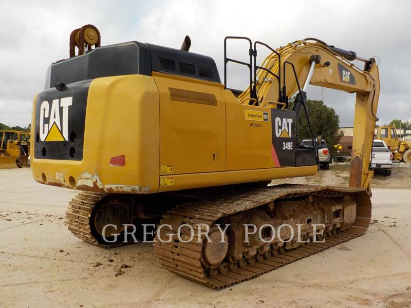 CATERPILLAR TRACK EXCAVATORS 349E L equipment  photo 10