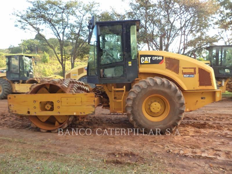 CATERPILLAR SOPORTE DE TAMBOR ÚNICO VIBRATORIO CP54B equipment  photo 6
