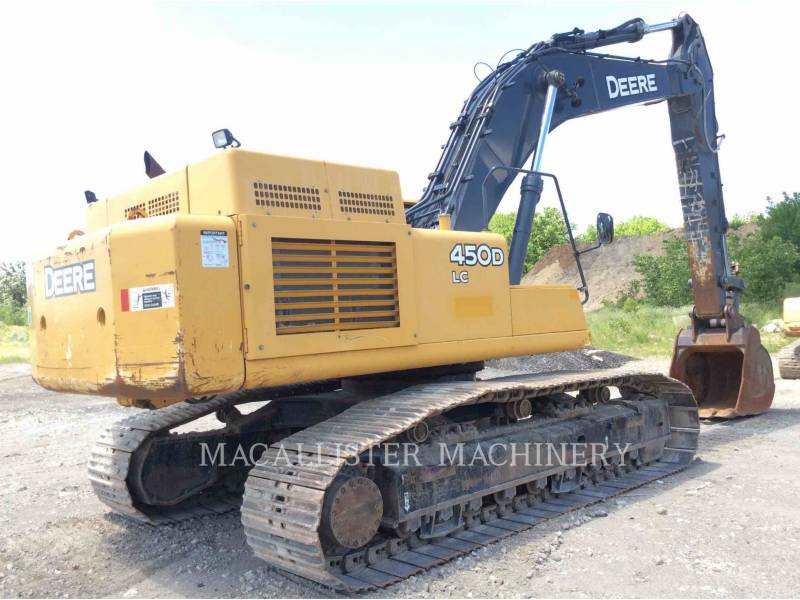 JOHN DEERE TRACK EXCAVATORS 450D LC equipment  photo 3