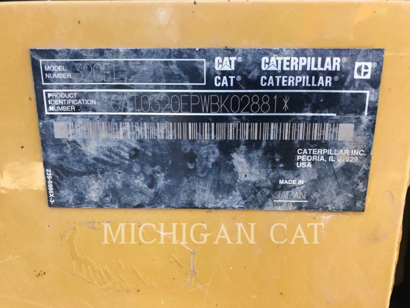 CATERPILLAR PELLES SUR CHAINES 320EL PQ equipment  photo 8
