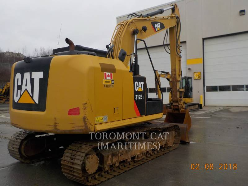 CATERPILLAR KETTEN-HYDRAULIKBAGGER 312 E LC WITH BLADE equipment  photo 8