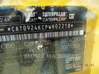 CATERPILLAR PALE GOMMATE/PALE GOMMATE MULTIUSO 924K equipment  photo 9