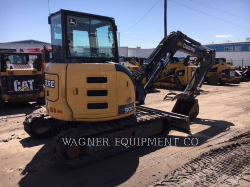 DEERE & CO. TRACK EXCAVATORS 50G equipment  photo 3