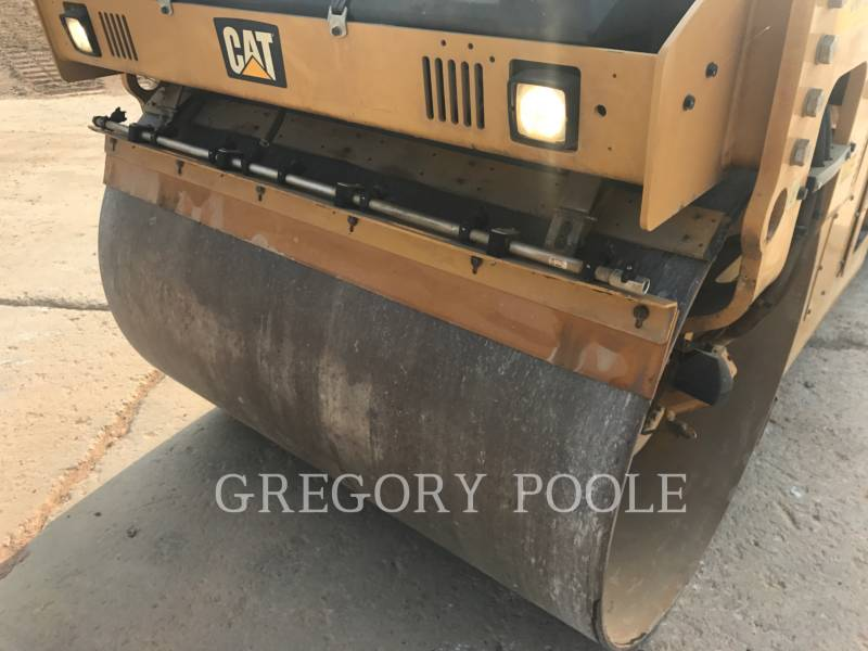 CATERPILLAR VIBRATORY DOUBLE DRUM ASPHALT CB-54 equipment  photo 14