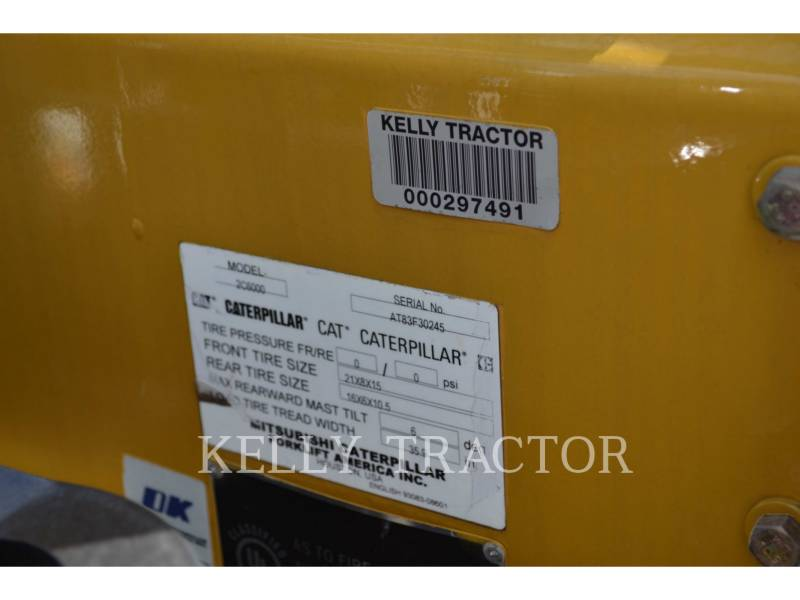 CATERPILLAR LIFT TRUCKS CHARIOTS À FOURCHE C6000 equipment  photo 5