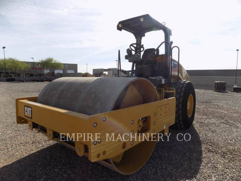 CATERPILLAR TRILLENDE ENKELE TROMMEL GLAD CS54B equipment  photo 4