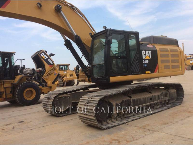 CATERPILLAR TRACK EXCAVATORS 349F equipment  photo 1