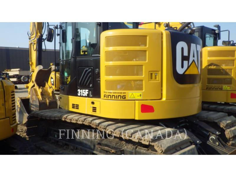 CATERPILLAR ESCAVATORI CINGOLATI 315FLCR equipment  photo 2