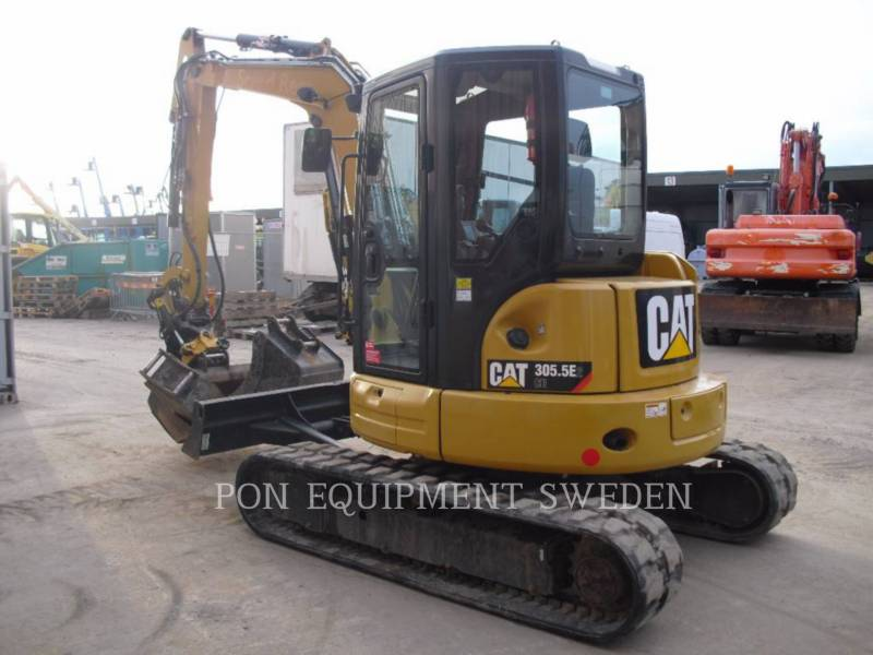 CATERPILLAR PELLES SUR CHAINES 305.5 E CR equipment  photo 4