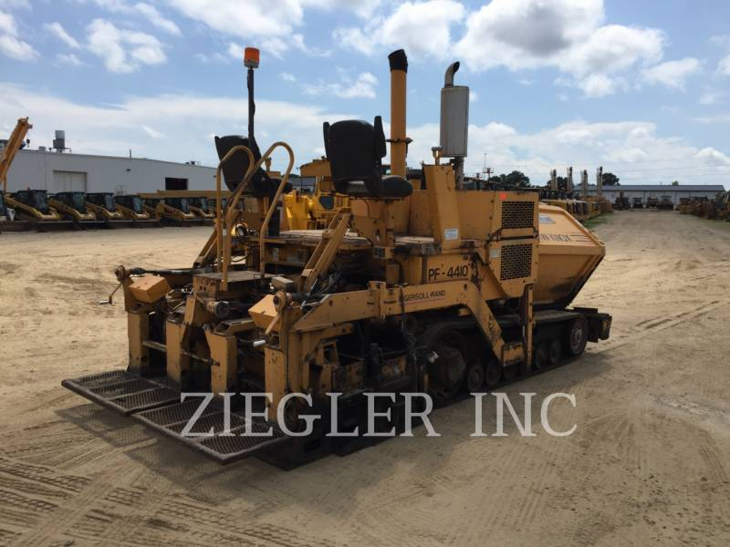 BLAW KNOX / INGERSOLL-RAND ASPHALT PAVERS PF4410 equipment  photo 4