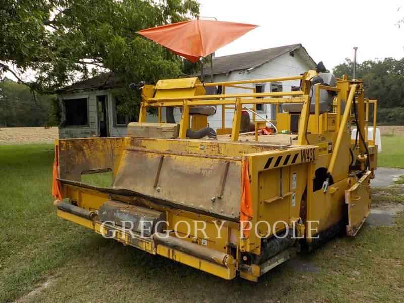 WEILER AMPLIADORES DE CAMINOS W430 equipment  photo 1