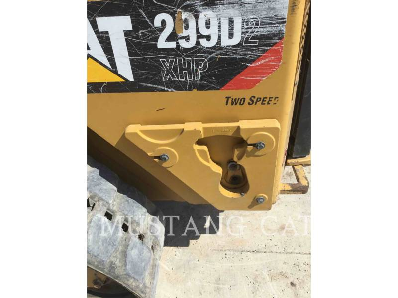 CATERPILLAR CARGADORES MULTITERRENO 299D2XHP equipment  photo 7