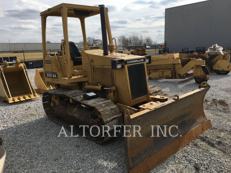 CATERPILLAR TRACK TYPE TRACTORS D3C equipment  photo 1