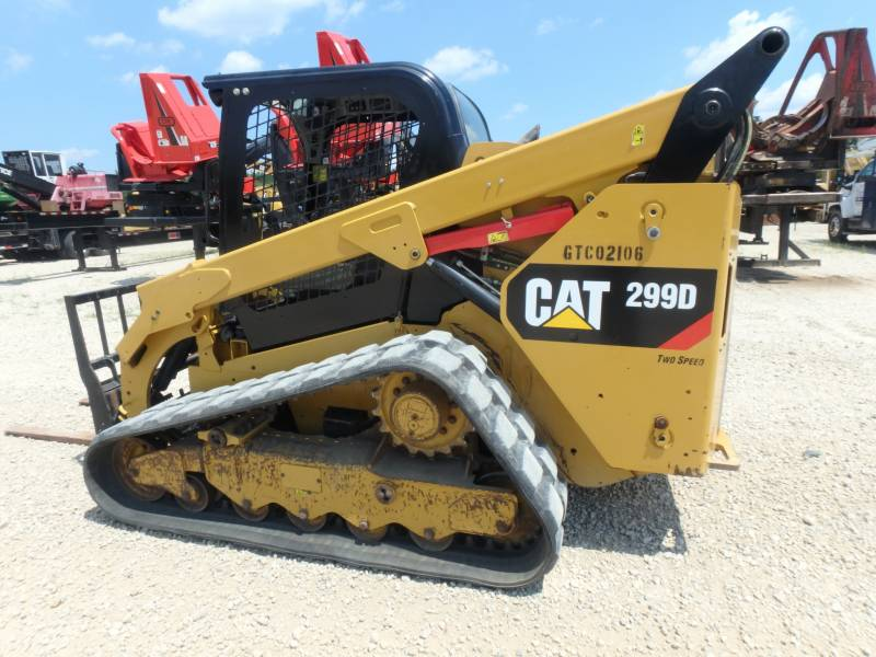 CATERPILLAR UNIWERSALNE ŁADOWARKI 299D equipment  photo 4