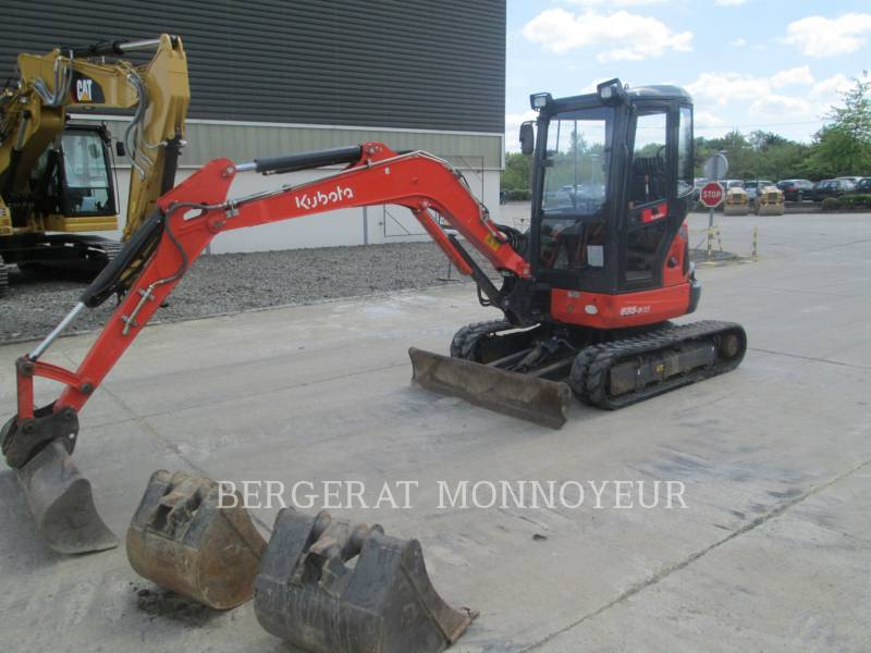 KUBOTA TRACTOR CORPORATION TRACK EXCAVATORS U35 equipment  photo 5