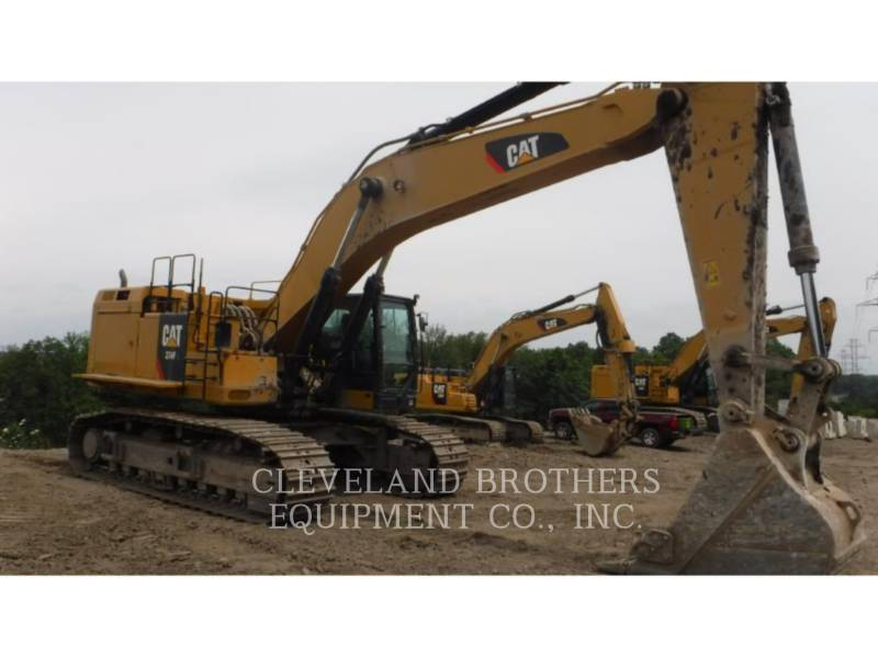 CATERPILLAR EXCAVADORAS DE CADENAS 374FL equipment  photo 2